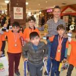 İzmir Palmiye  Satranç Turnuvasından 3 Kupa ile Döndük