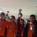 İzmir Şelale Turnuvasından Kupalarla Döndük