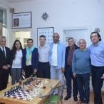T.S.F. Başkanı Sn.Gülkız Tülay Kulübümüzü Ziyaret Etti
